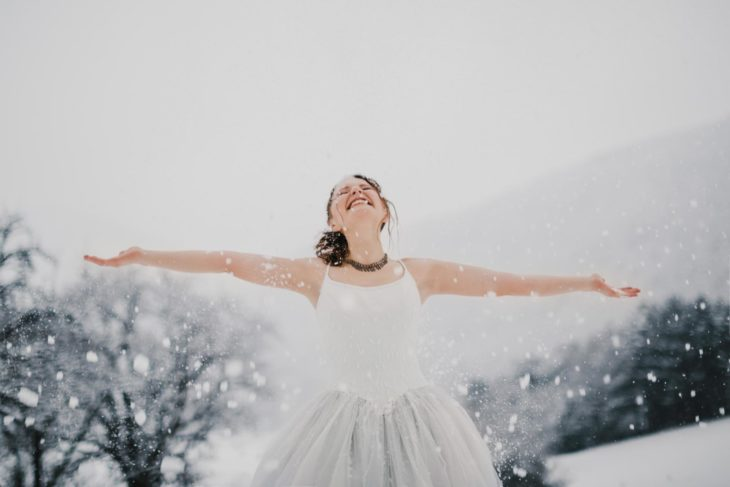 Titelbild TrashTheDress Isabela - After Wedding Shooting im Winter